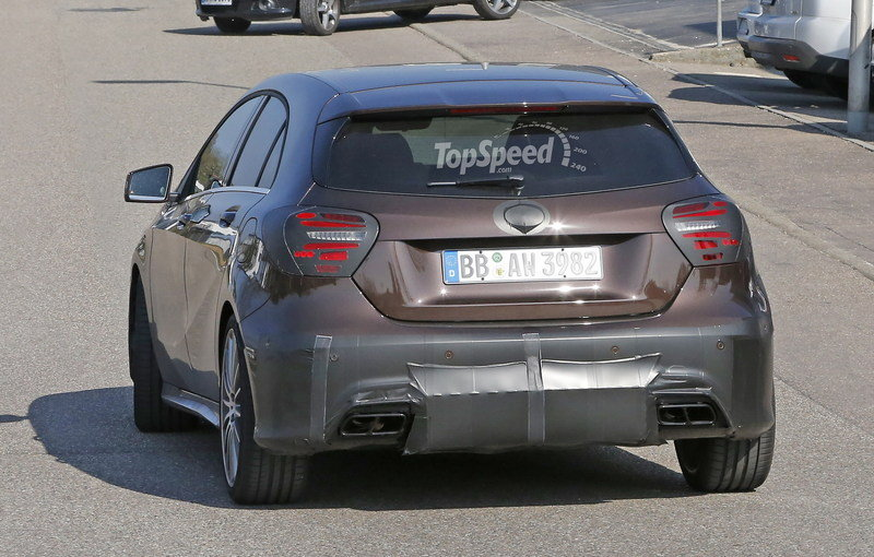 Mercedes A45 AMG Testing In Germany: Spy Shots Exterior Spyshots - image 631755