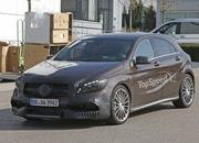 Mercedes A45 AMG Testing In Germany: Spy Shots - image 631756
