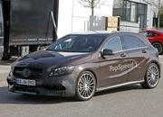 Mercedes A45 AMG Testing In Germany: Spy Shots - image 631757