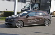 Mercedes A45 AMG Testing In Germany: Spy Shots - image 631758