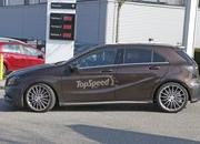 Mercedes A45 AMG Testing In Germany: Spy Shots - image 631759