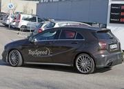 Mercedes A45 AMG Testing In Germany: Spy Shots - image 631760
