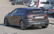 Mercedes A45 AMG Testing In Germany: Spy Shots - image 631762