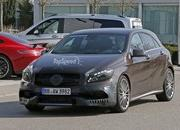 Mercedes A45 AMG Testing In Germany: Spy Shots - image 631754