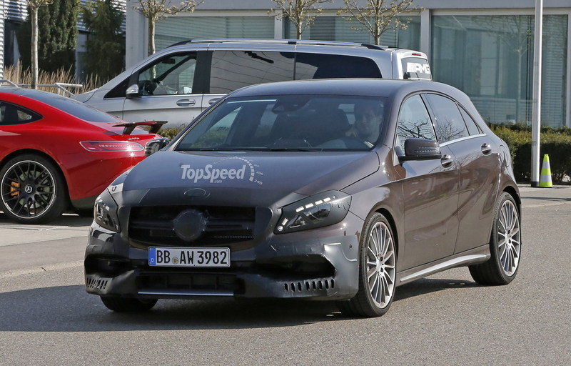 Mercedes A45 AMG Testing In Germany: Spy Shots Exterior Spyshots - image 631754