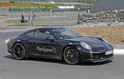 Porsche 991 Facelift Testing Free Of Camouflage: Spy Shots - image 630666