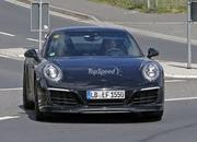 Porsche 991 Facelift Testing Free Of Camouflage: Spy Shots - image 630661