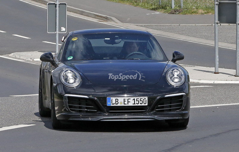 Porsche 991 Facelift Testing Free Of Camouflage: Spy Shots