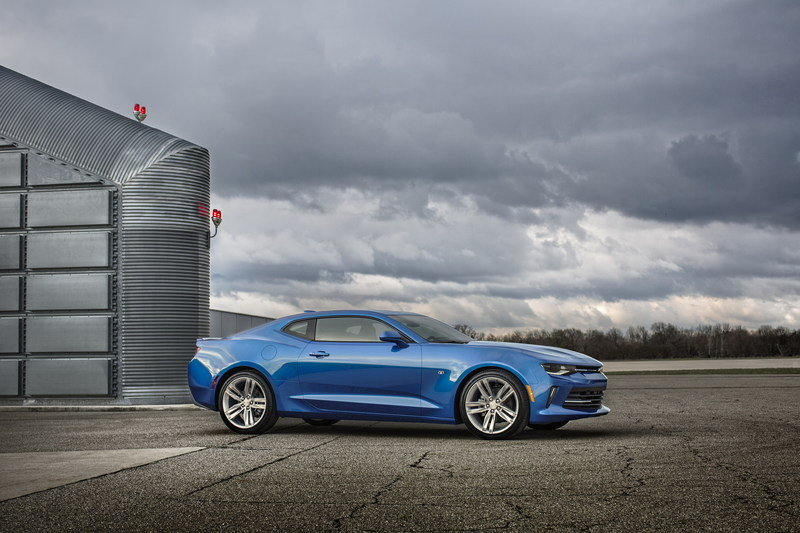 2016 - 2017 Chevrolet Camaro High Resolution Exterior - image 630473