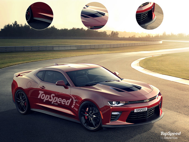 2017 Chevrolet Camaro ZL1 Exterior Exclusive Renderings Computer Renderings and Photoshop - image 631440