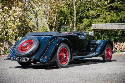 1937 Aston Martin 15/98 2L Long Chassis Tourer