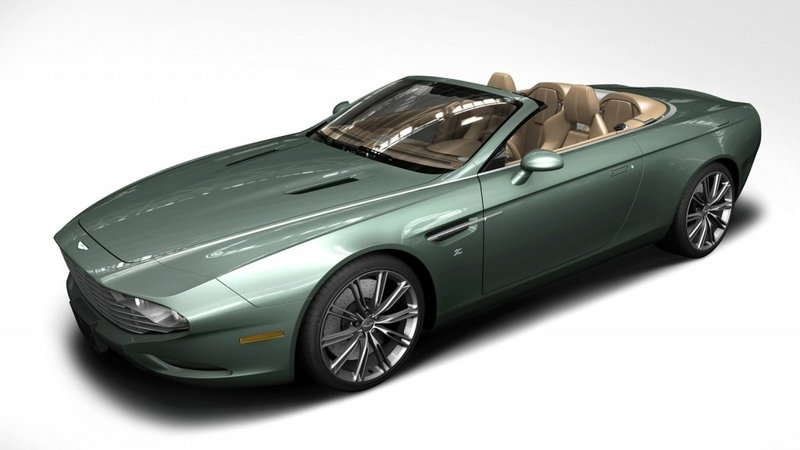 Aston Martin DB9 Spyder Zagato Centennial Will Be Auctioned At Pebble Beach