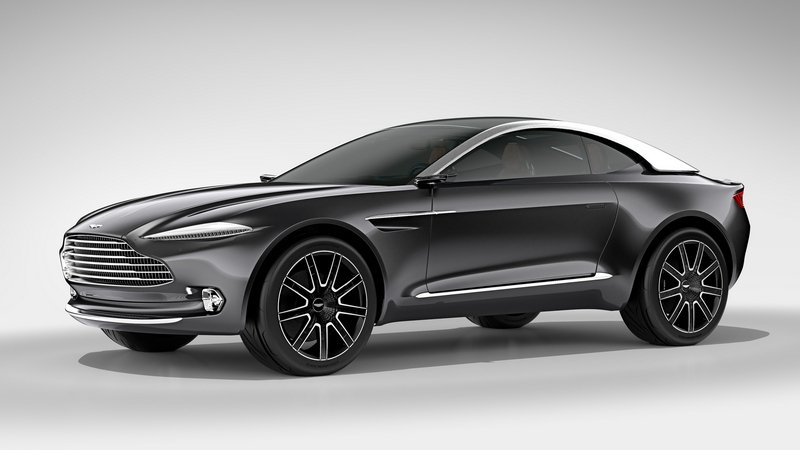 Aston Martin DBX Crossover Won't Be Built On Mercedes' platform