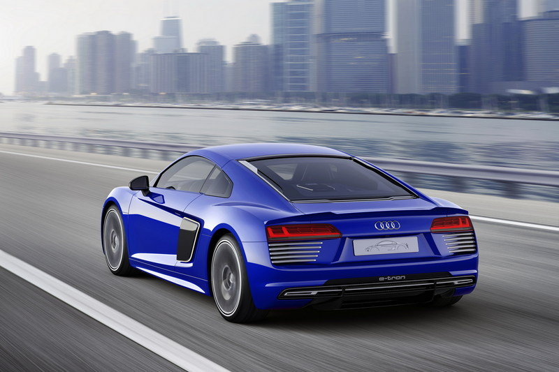 2015 Audi R8 E-Tron Piloted Driving Concept