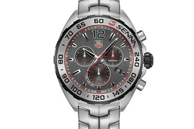 Ayrton Senna Watch Collection By TAG Heuer