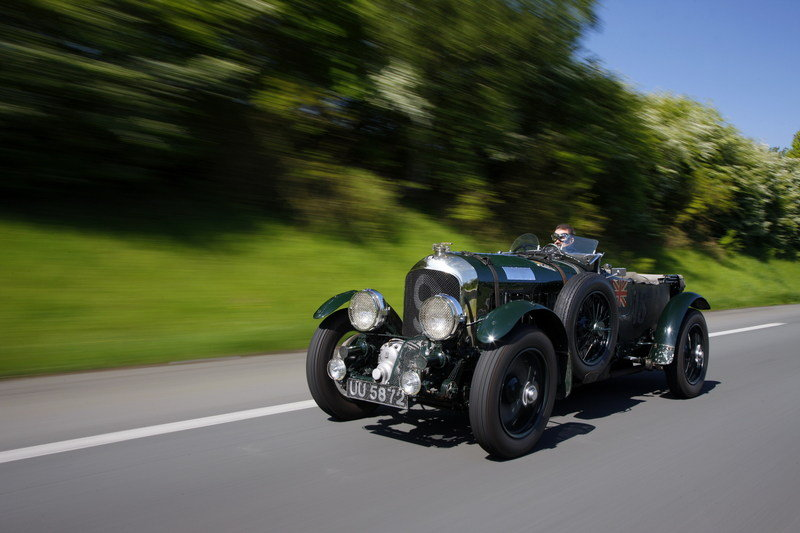 Bentley Marks Birkin's Anniversary With Mille Miglia Run
