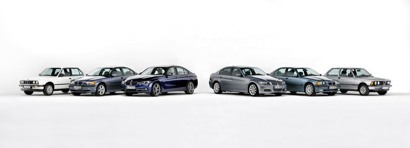 BMW 3 Series Turns 40: Video