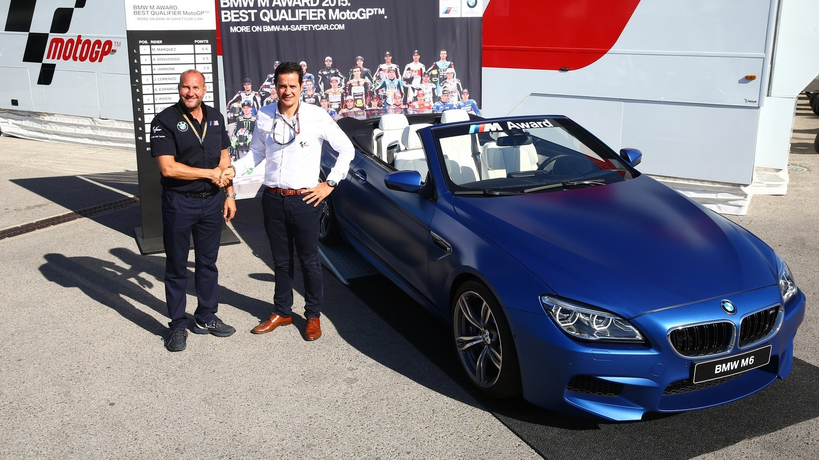 Bmw Unveils M6 Convertible Special Edition For Motogp Top Speed