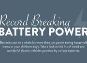 Car Infographic: Record Breaking Battery Power - image 630079