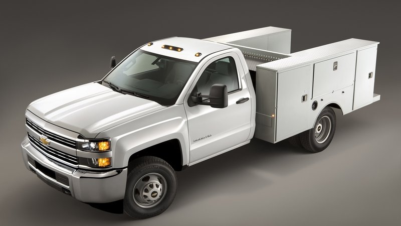 Chevrolet Silverado Chassis Cab Gets CNG Capability