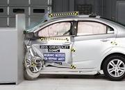 Chevrolet Sonic Earns 2015 Top Safety Pick - image 629536