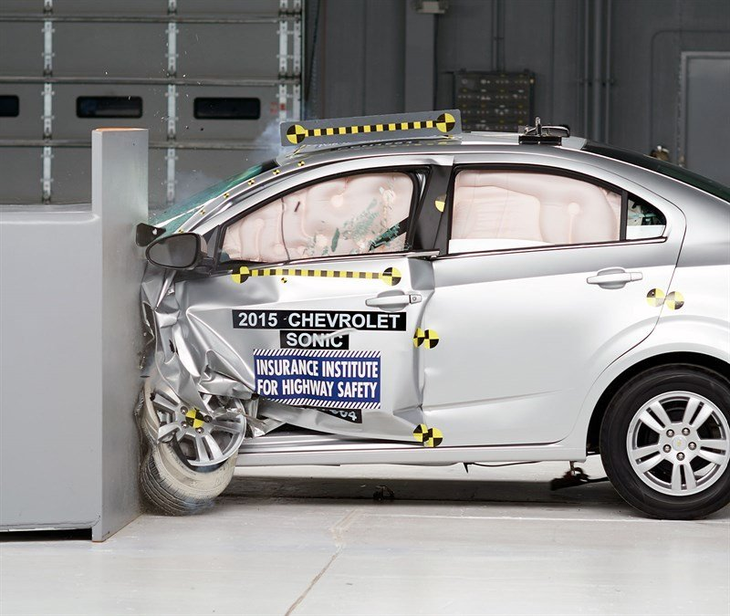 Chevrolet Sonic Earns 2015 Top Safety Pick