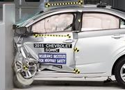 Chevrolet Sonic Earns 2015 Top Safety Pick - image 629537