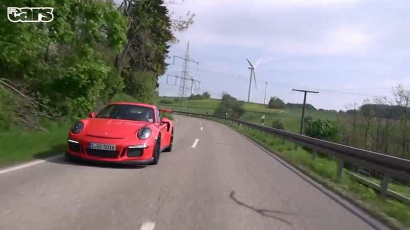 Chris Harris Drives The Porsche 991 GT3 RS On Road And Track: Video