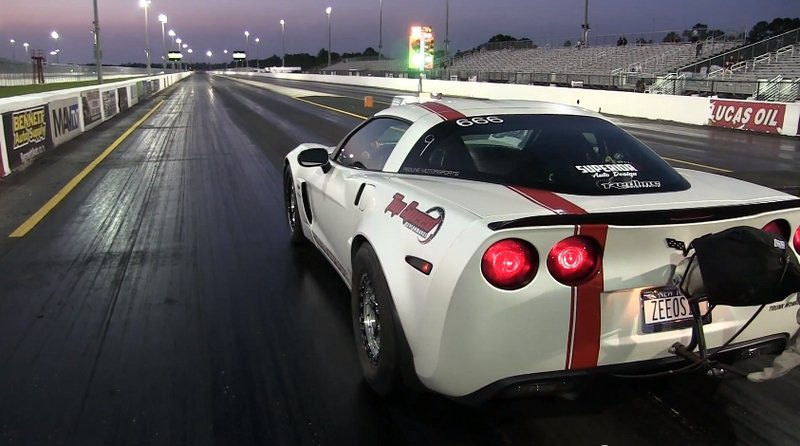 Corvette Z06 Runs Seven Second Quarters Miles
