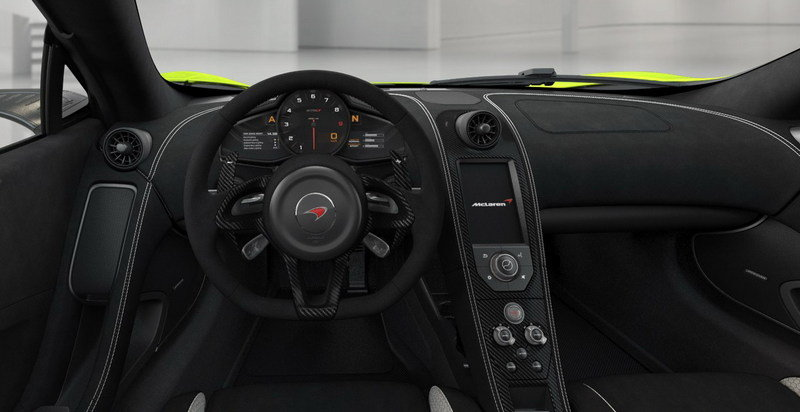 Build The McLaren 675LT Of Your Dreams With The New Online Configurator Interior - image 631825
