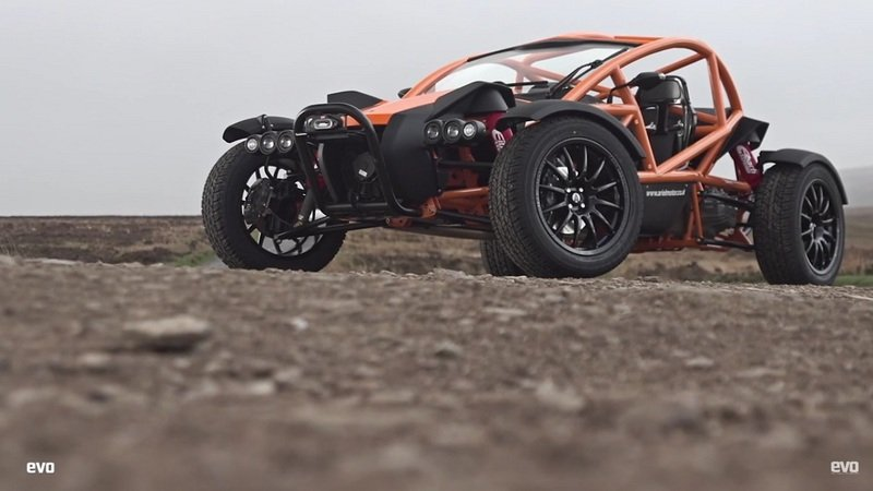 EVO Drives The New Ariel Nomad: Video
