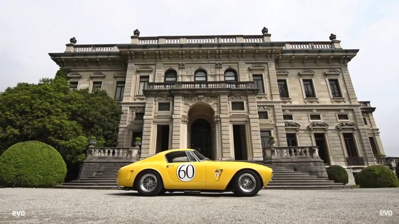 EVO Reviews 1960 Ferrari 250 GT SWB Berlinetta Competizione: Video