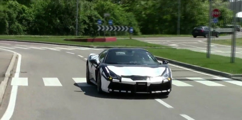 Ferrari 488 GTB & 488 GTS Caught In Maranello: Video