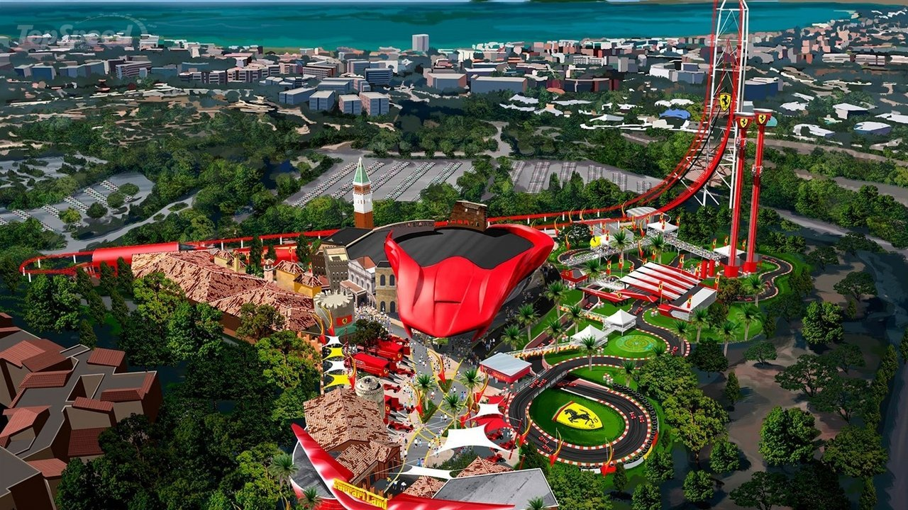 ferrari land theme park will open in 2016 picture 629794 car news top speed. Black Bedroom Furniture Sets. Home Design Ideas