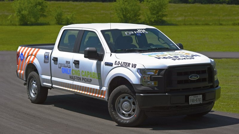 2016 Ford F-150 Gets CNG Capability