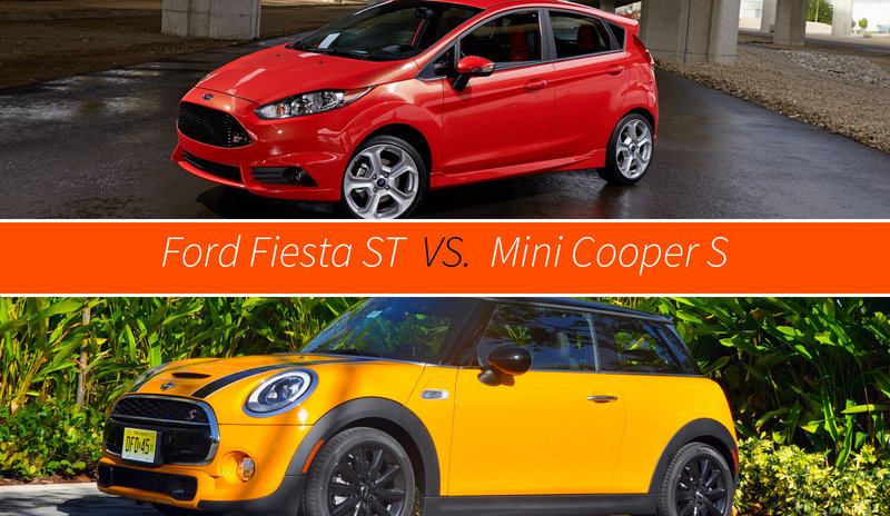 Ford Fiesta ST Vs. Mini Cooper S