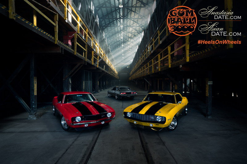 GUMBALL 3000 Cars