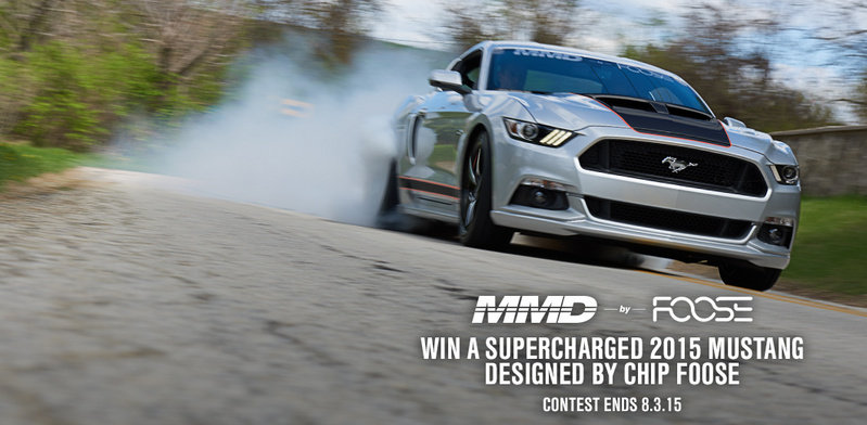 Here's Your Chance to Win a 2015 Mustang GT Designed by Chip Foose