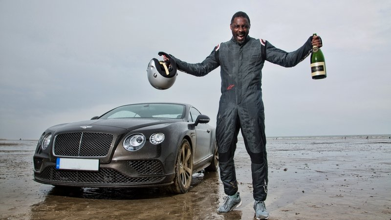 Idris Elba Breaks Historic 'Flying Mile' Record In Bentley Continental GT Speed