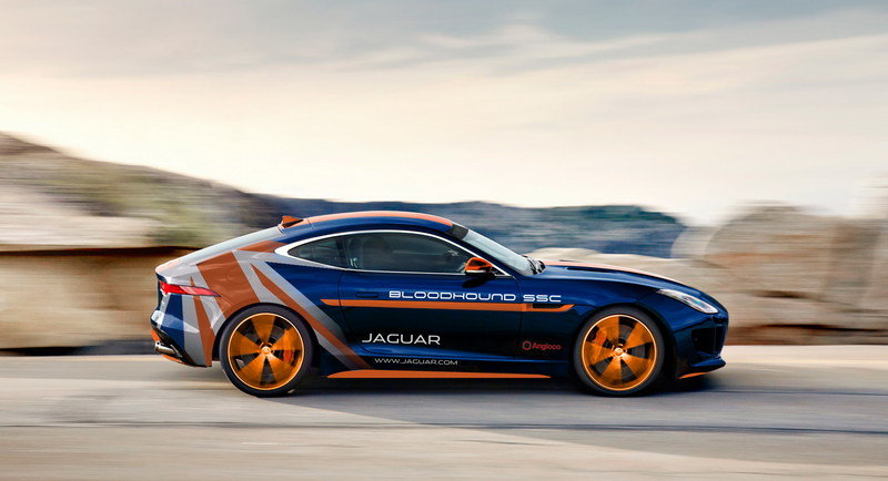 Jaguar Will Support Land Speed Record Attempt With F-Type R AWD Bloodhound SSC RRV High Resolution Exterior - image 630805