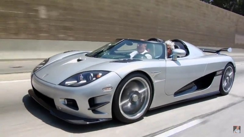 Jay Leno Talks with Christian Koenigsegg About The Trevita CCXR: Video