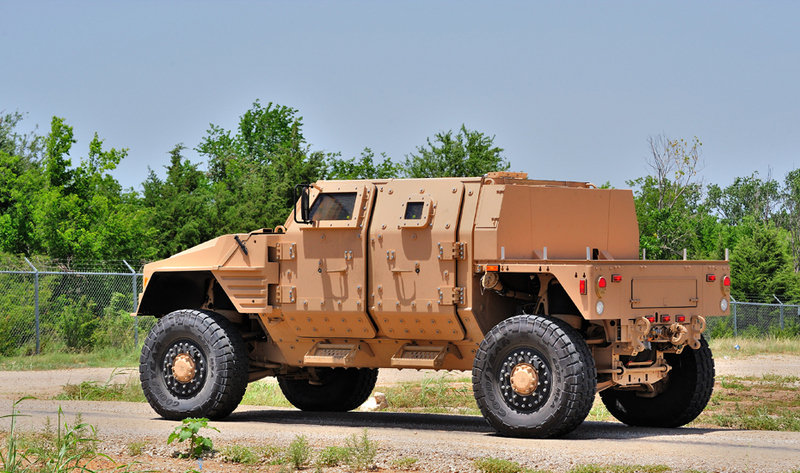 Lockheed Martin's Joint Light Tactical Vehicle (JLTV)