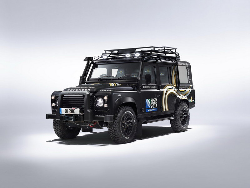 2015 Land Rover Defender Rugby World Cup Edition | Top Speed