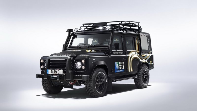 2015 Land Rover Defender Rugby World Cup Edition
