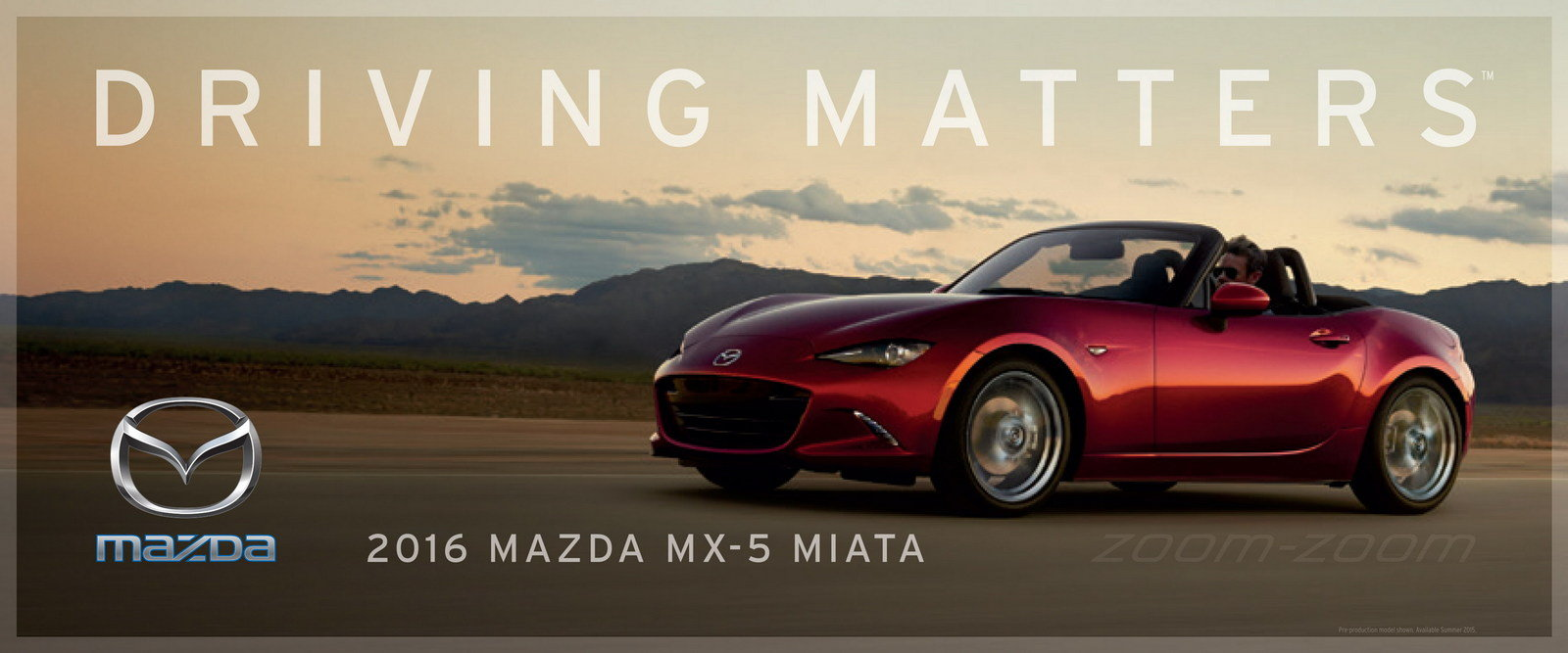 """Mazda Launches """"Driving Matters"""" Slogan - Picture 631160 ..."""