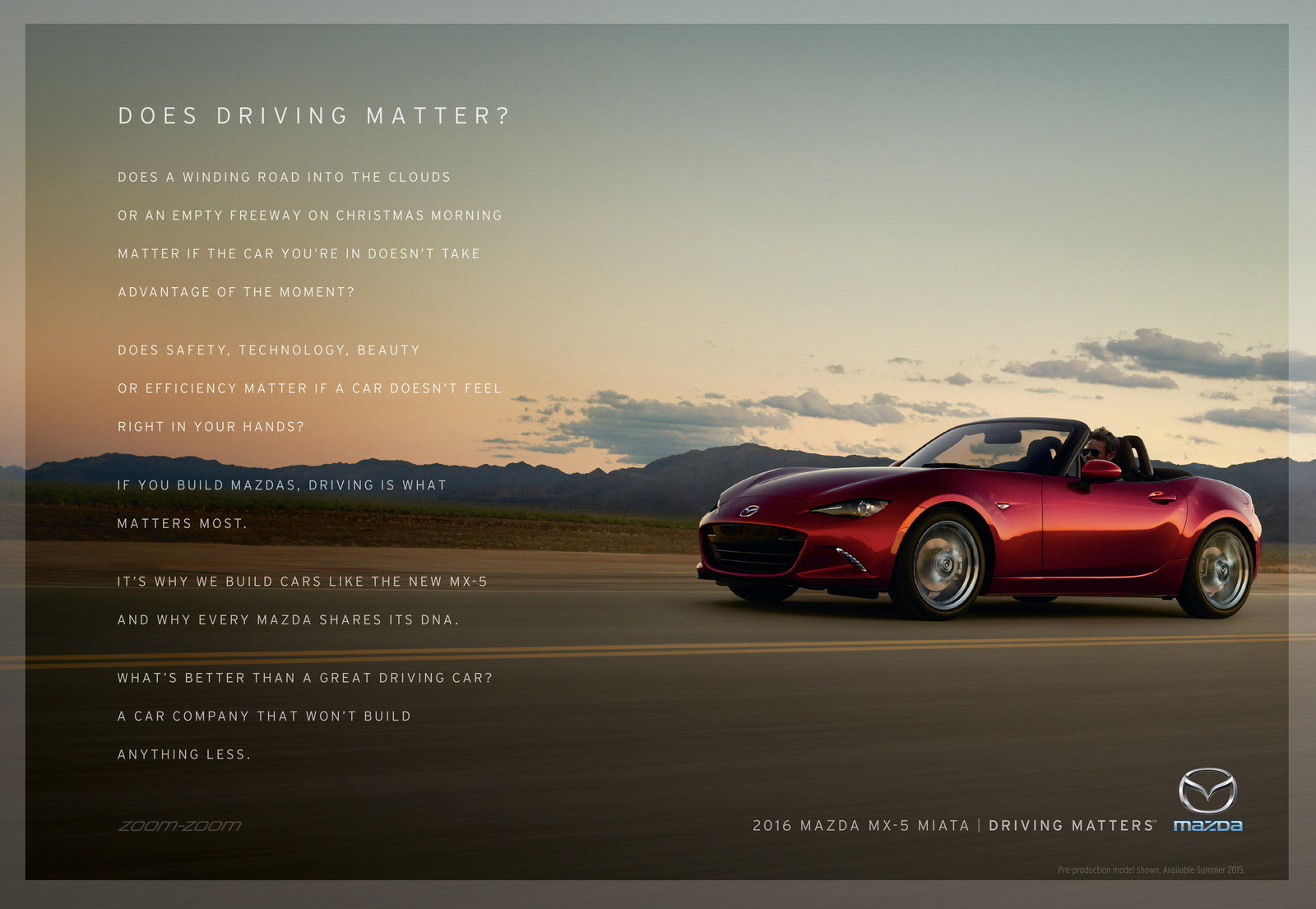 """Mazda Launches """"Driving Matters"""" Slogan - Picture 631162 ..."""