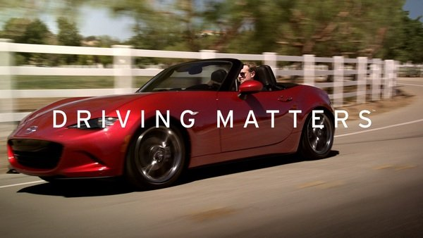 mazda launches driving matters slogan news top speed. Black Bedroom Furniture Sets. Home Design Ideas