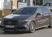 Mercedes A45 AMG Testing In Germany: Spy Shots - image 631764
