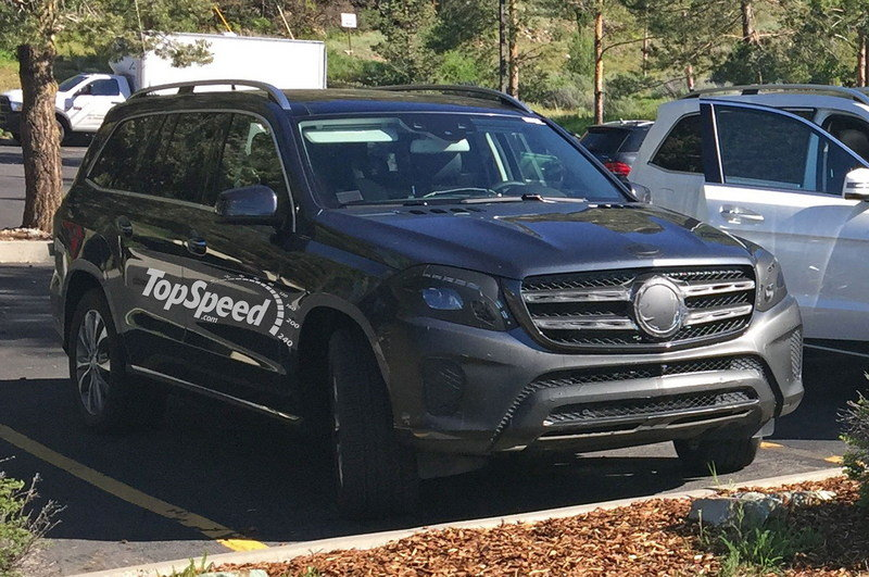 2017 Mercedes-Benz GLS-Class High Resolution Exterior Spyshots - image 631168
