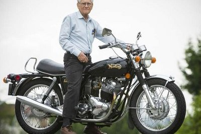 Octogenarian Planning To Take 6,000-Mile Trip To The 2015 International Norton Owners Association Rally